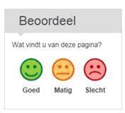 smiley scherm van govmetric